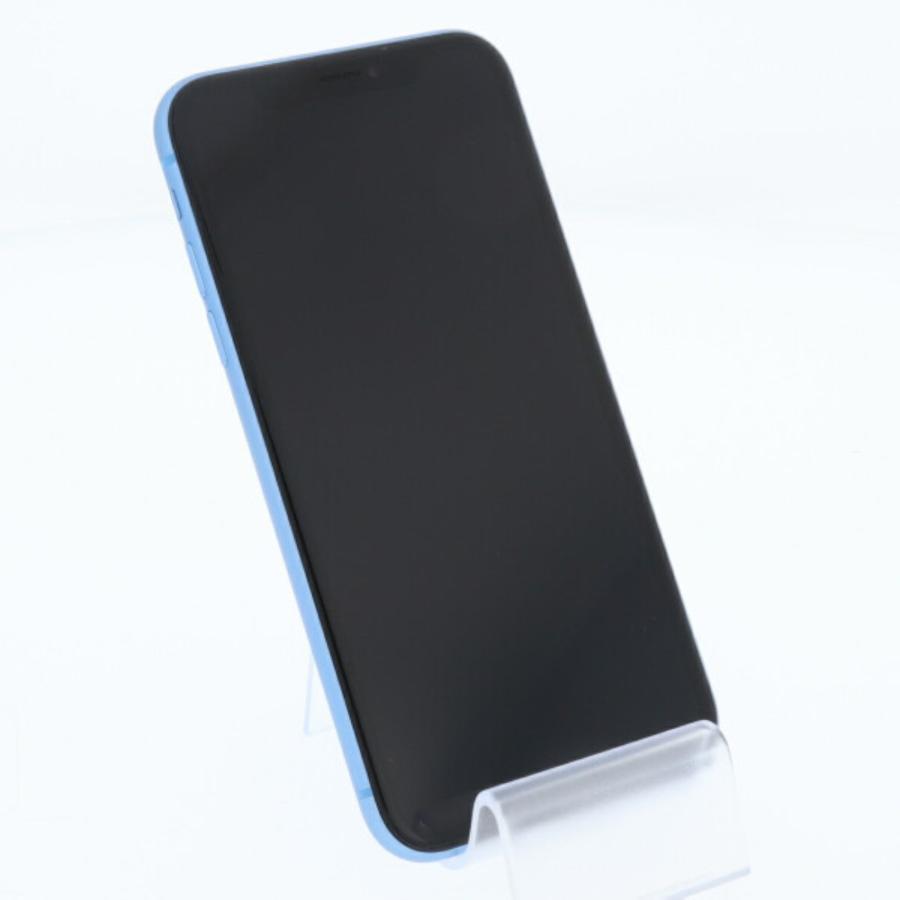 スマートフォン SoftBank 白ロム  SoftBank iPhoneXR 128GB ブルー