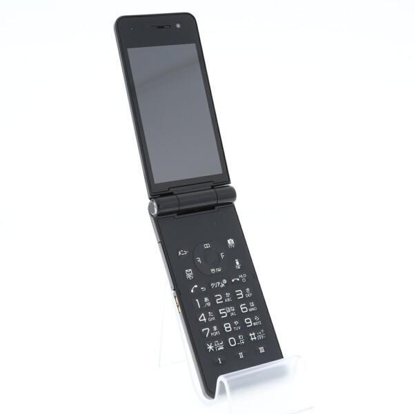 携帯電話 docomo 白ロム  P-01F ブラック