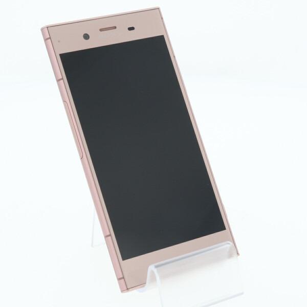 スマートフォン au 白ロム  SOV36 Xperia XZ1 ヴィーナスピンク