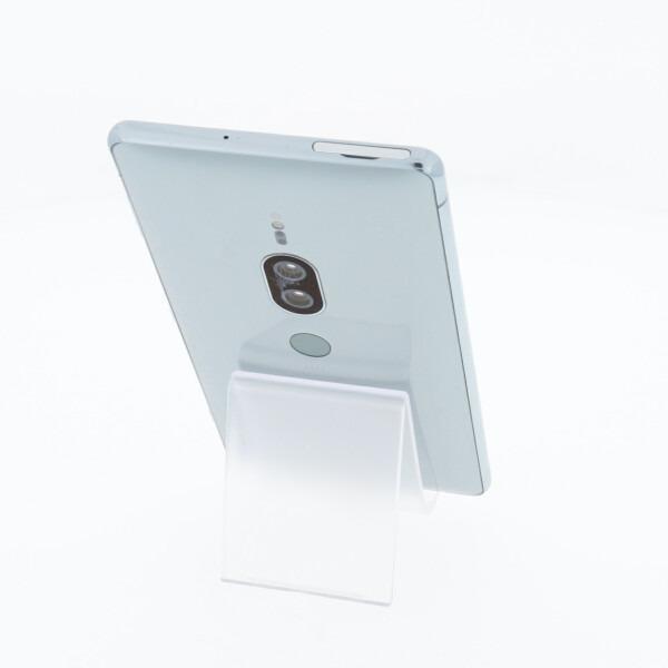 スマートフォン au 白ロム  SOV38 Xperia XZ2 Premium クロムシルバー