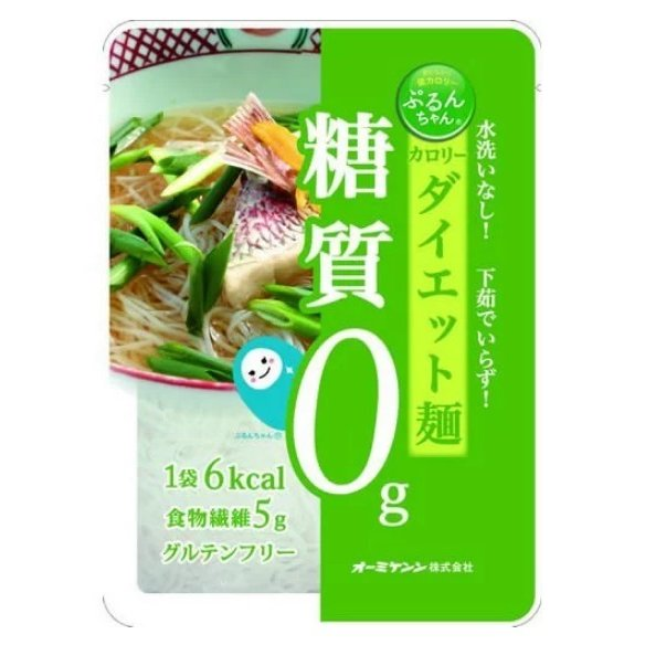 送料無料 10個 オーミケンシ ぷるんちゃん 麺タイプ100g 賞味期限2022.05.19 smartsourcing1001