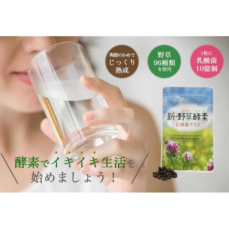 新・野草酵素 乳酸菌プラス(20粒入り) smcknekou 07