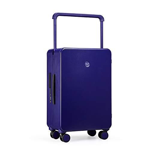 [トゥジアTUPLUS] トロリースーツケース PC 手荷物 耐久性 静音 超軽量 大型(ブルー 73L 66.5cm 5.3KG)
