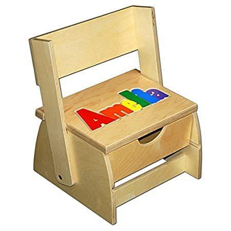 Damhorst Toys & Puzzles Step 'n Store ネームパズル スツール【並行輸入品】