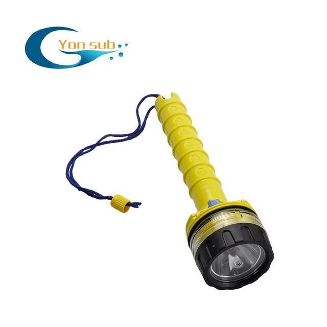 YONSUBスキューバダイビング 水中防水LEDダイバーライト 黄 China