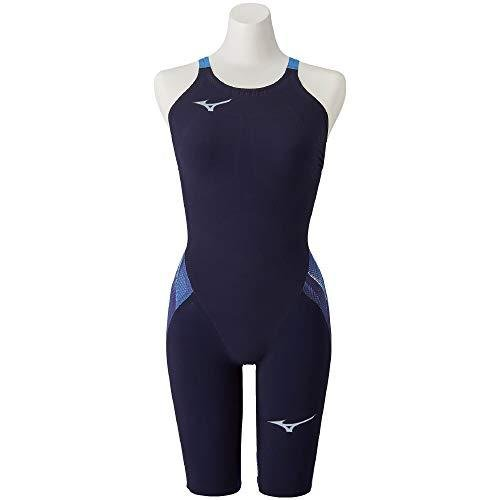 MIZUNO(ミズノ) レース用競泳水着 ジュニア(ガールズ) GX·SONIC V MR ハーフスーツ N2MG0202 カラー:ブルー サイズ:140 FI