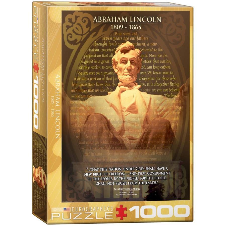 1000ピース ジグソーパズル 自エイブラハム・リンカーン 6000-1433