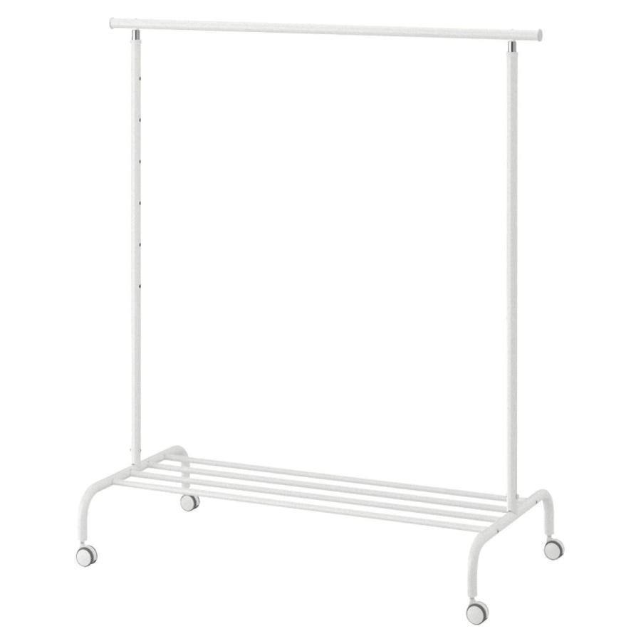 IKEA(イケア) RIGGA 30231631 洋服ラック, ホワイト|smilehometen