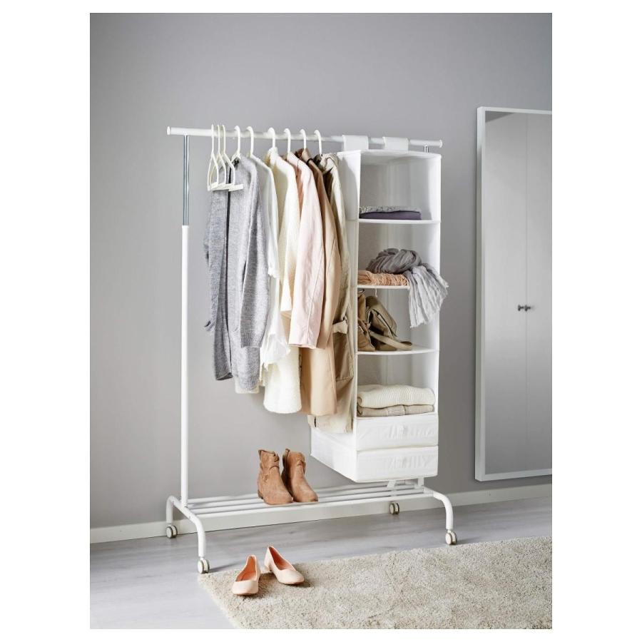IKEA(イケア) RIGGA 30231631 洋服ラック, ホワイト|smilehometen|02