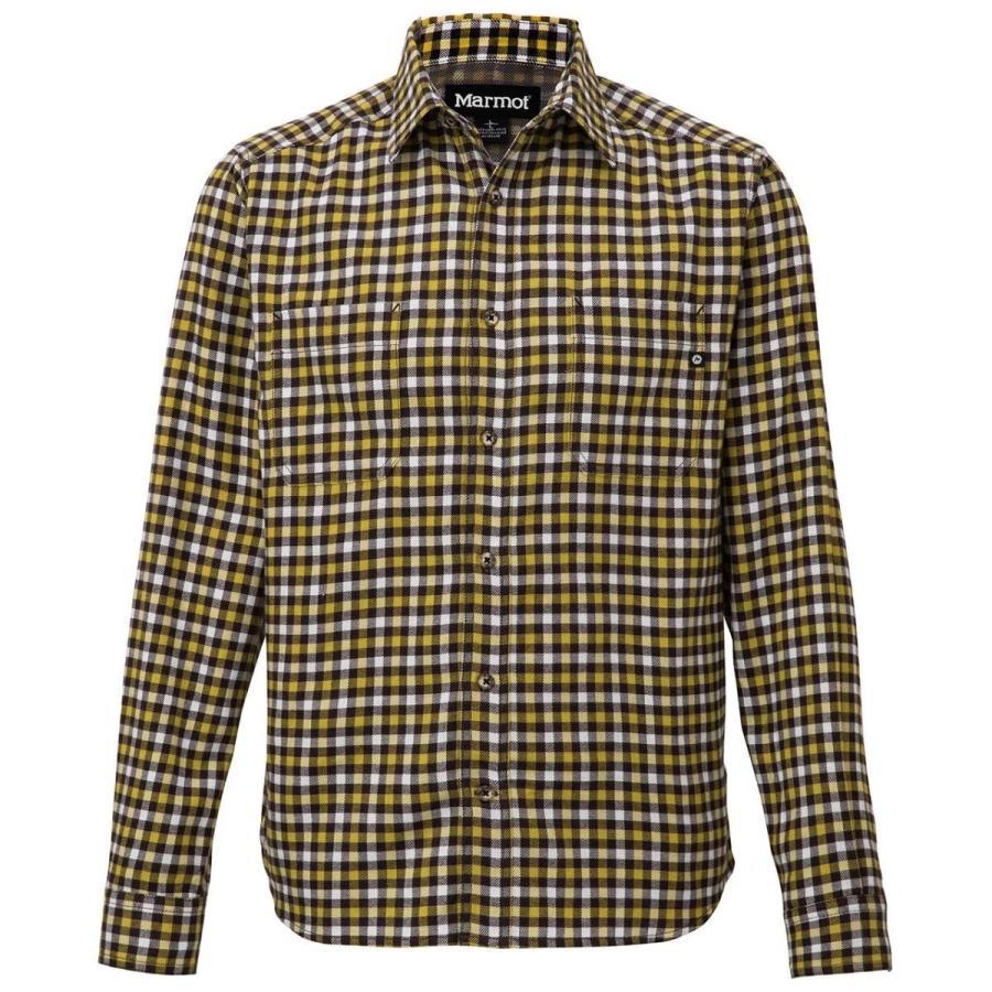 マーモット(Marmot) Gun-club Check L/S Shirt TOMMJB76 BK ブラック L