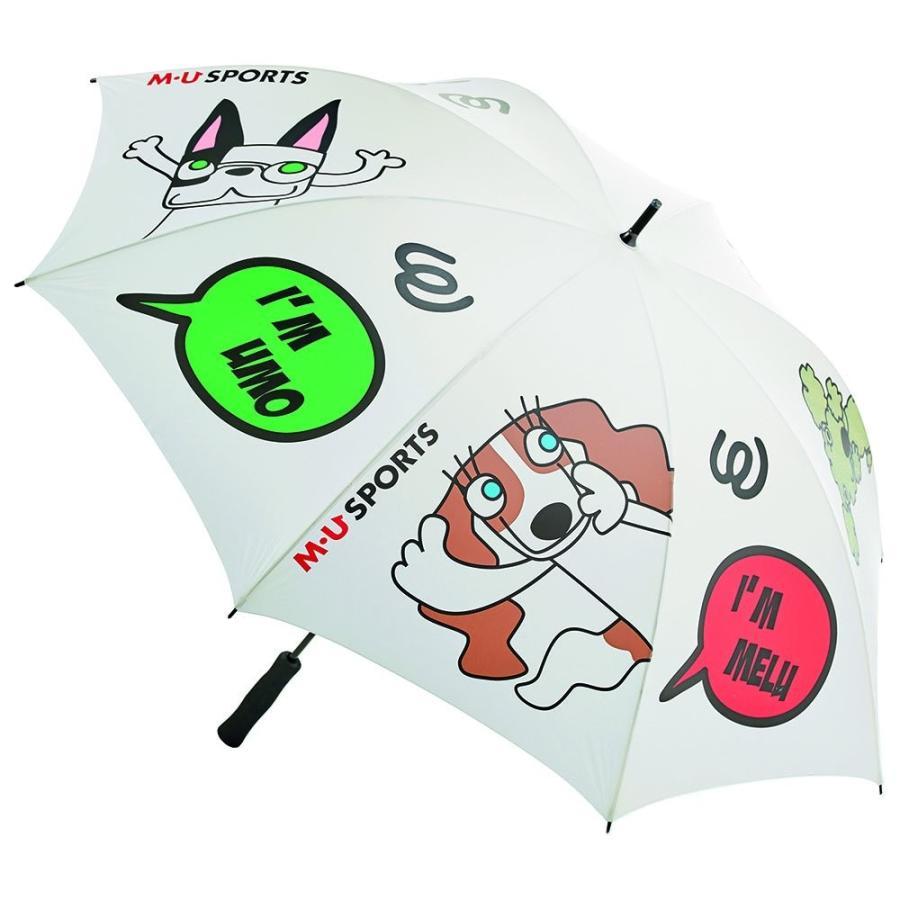 【正規品直輸入】 MU SPORTS(エム ユースポーツ) 703W2930 M・U SPORTS晴雨兼用傘 ホワイト 703W2930 700mm, jamboo c16c178a