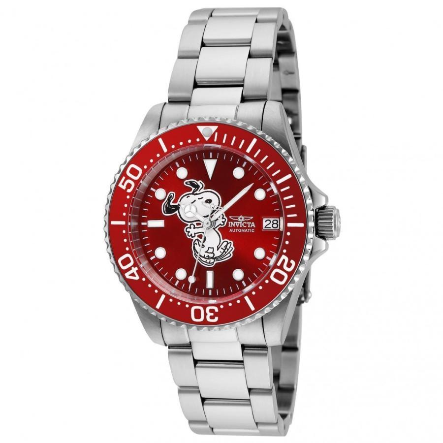 最新のデザイン Invicta インビクタ 腕時計 女性用 24792 インビクタ キャラクターコレクション スヌーピー オートマチック 腕時計 スヌーピー レッドダイヤルウォッチ, キリブチ製麺:f0ba27f3 --- airmodconsu.dominiotemporario.com