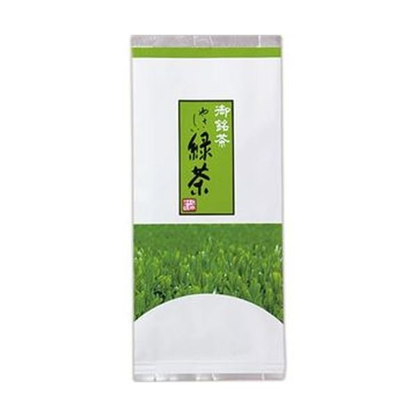 (まとめ)三ツ木園 やさしい緑茶 180g/袋 1セット(5袋)〔×5セット〕