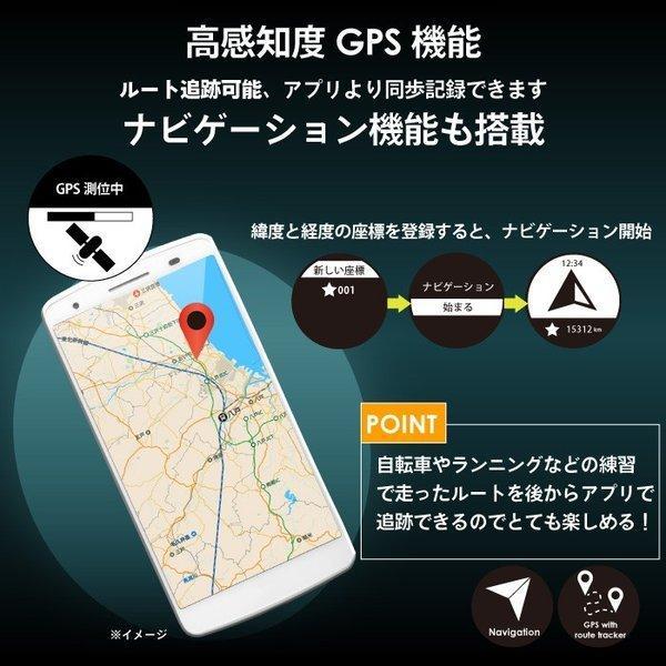 【あすつく 送料無料】GORIX GPS 腕時計 スマートウォッチ 防水 心拍 時計 iphone android ブルートゥース Bluetooth GORIMIN245|smz-shimizu|04