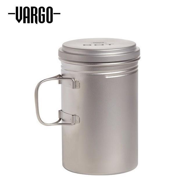 VARGO バーゴ チタニウムボットHD T-482 【ポット/ボトル/クッカー/アウトドア/キャンプ】
