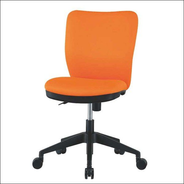 オフィスチェア HC−102 布製 肘なし 幅46cm