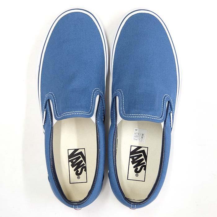 VANS CLASSIC SLIP-ON VN000EYENVY[バンズ クラシック スリッポン][メンズ/スニーカー/ヴァンズ/ネイビー/紺/定番/スケボー/USA企画]|sneaker-bouz|02