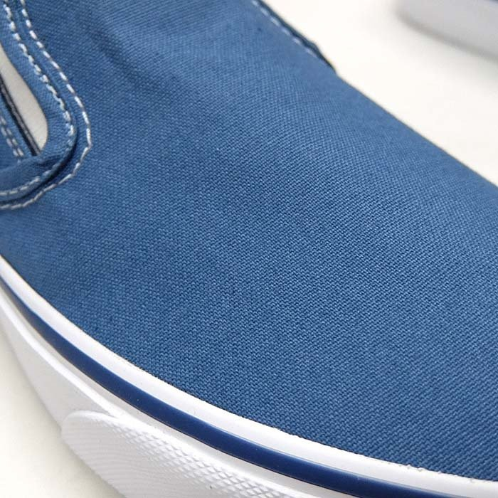 VANS CLASSIC SLIP-ON VN000EYENVY[バンズ クラシック スリッポン][メンズ/スニーカー/ヴァンズ/ネイビー/紺/定番/スケボー/USA企画]|sneaker-bouz|04