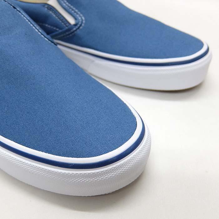 VANS CLASSIC SLIP-ON VN000EYENVY[バンズ クラシック スリッポン][メンズ/スニーカー/ヴァンズ/ネイビー/紺/定番/スケボー/USA企画]|sneaker-bouz|05