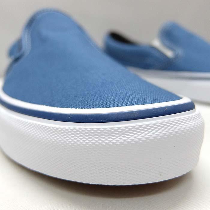 VANS CLASSIC SLIP-ON VN000EYENVY[バンズ クラシック スリッポン][メンズ/スニーカー/ヴァンズ/ネイビー/紺/定番/スケボー/USA企画]|sneaker-bouz|06