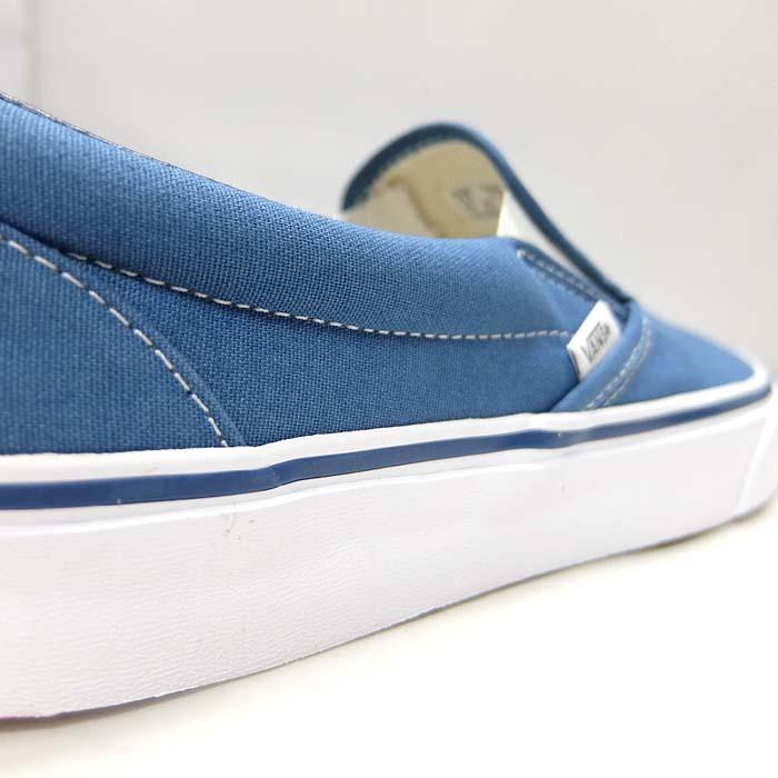 VANS CLASSIC SLIP-ON VN000EYENVY[バンズ クラシック スリッポン][メンズ/スニーカー/ヴァンズ/ネイビー/紺/定番/スケボー/USA企画]|sneaker-bouz|08