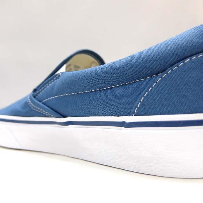 VANS CLASSIC SLIP-ON VN000EYENVY[バンズ クラシック スリッポン][メンズ/スニーカー/ヴァンズ/ネイビー/紺/定番/スケボー/USA企画]|sneaker-bouz|10