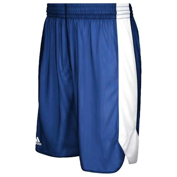 アディダス バスケットボール ショートパンツ 海外モデル メンズ チーム クレイジー リバーシブル ショーツ ハーフパンツ - Men¥'s ADIDAS