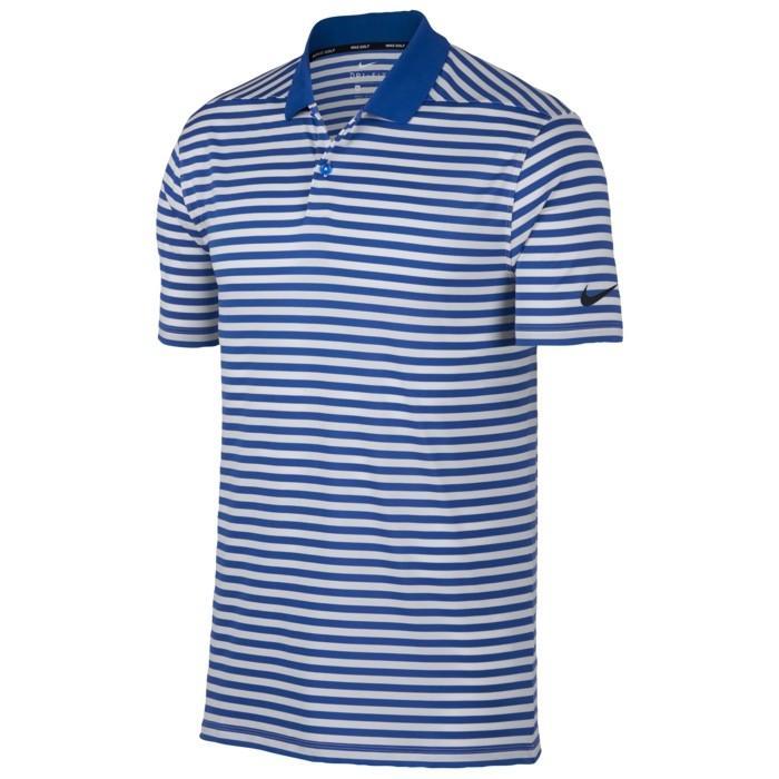 ゴルフ Tシャツ メンズ トップス 半袖 NIKE ナイキ DRIFIT ドライフィット VICTORY ビクトリー STRIPE ストライプ