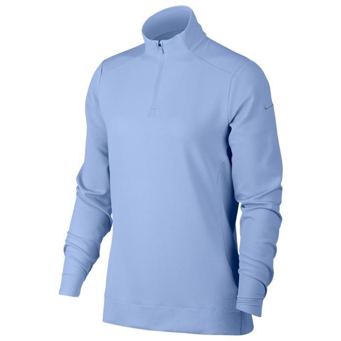 ゴルフ Tシャツ レディース トップス 半袖 NIKE ナイキ DRIFIT ドライフィット UV 1/4 ZIP GOLF TOP スポーツ