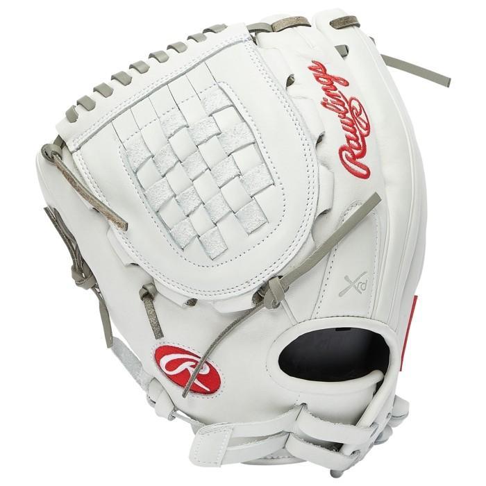 ローリングス ソフトボール 手袋/グローブ 海外モデル レディース 白・ホワイト シリーズ グローブ グラブ 手袋 - Women¥'s LIBERTY