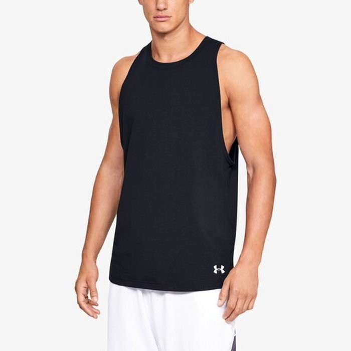 アンダーアーマー バスケットボール 海外モデル メンズ バセリン タンクトップ - Men¥'s underarmour BASELINE COTTON