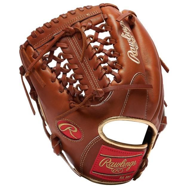 野球 グローブ メンズ 手袋/グローブ ローリングス プロ PREFER赤 PROS204 FIELDING グラブ 手袋 バッティング用手袋