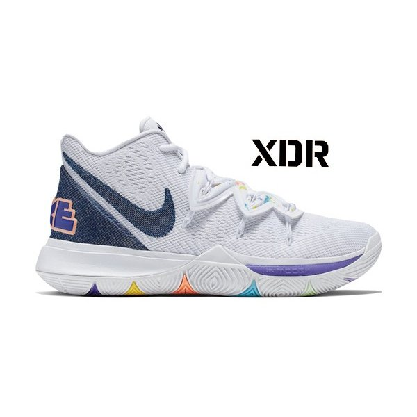 NIKE KYRIE 5 EP 'HAVE A NIKE DAY' ナイキ カイリー 5 ハブ ア ナイス デイ 【MEN'S】 白い/royal 青 AO2919-101