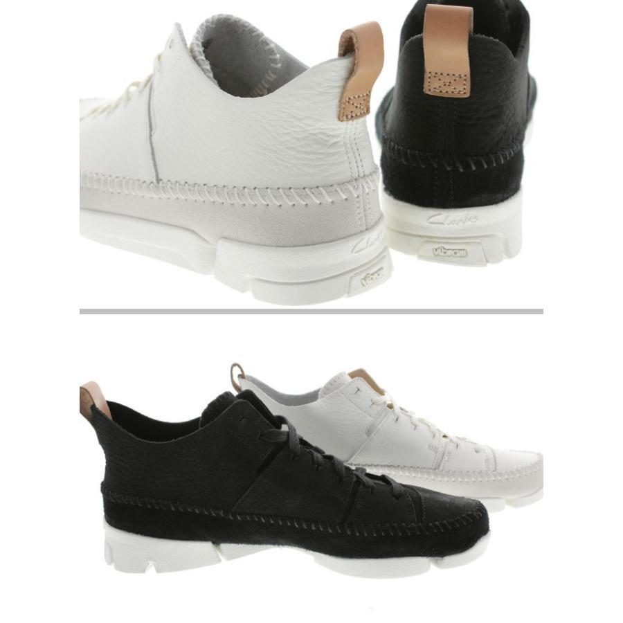 定番 クラークス Clarks スニーカー トライジェニック フレックス Trigenic Flex 892E ホワイト(WHIT) ブラックヌバック(BS) sneakersoko 04
