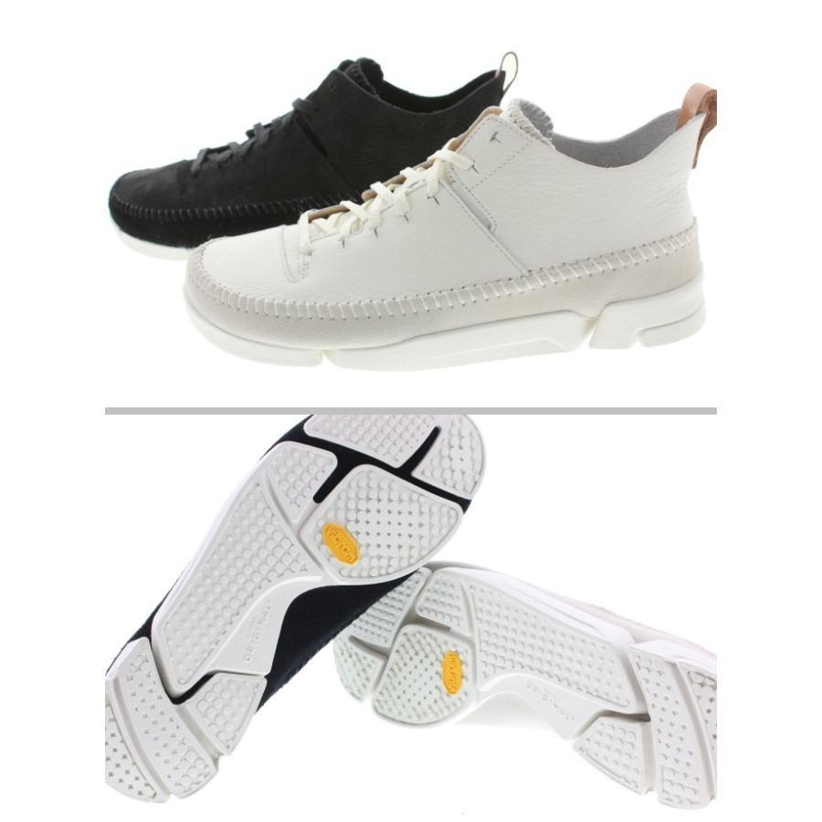 定番 クラークス Clarks スニーカー トライジェニック フレックス Trigenic Flex 892E ホワイト(WHIT) ブラックヌバック(BS) sneakersoko 05