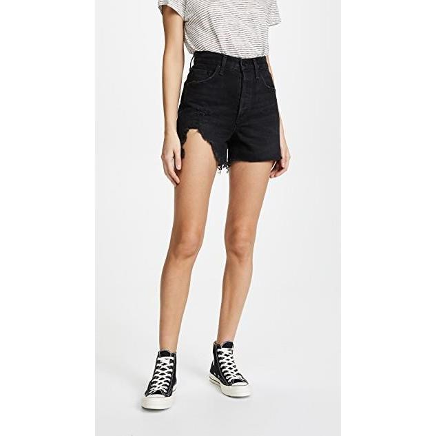 2019新作モデル ユニセックス Shorts Rise 鞄 バッグ High The Dee Ultra High Rise Shorts, タカモリマチ:9efb4067 --- fresh-beauty.com.au