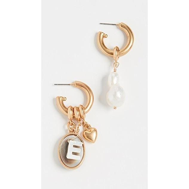 【在庫有】 ユニセックス 鞄 鞄 バッグ Persona ユニセックス Hoop Earrings Earrings, リサイクルエコトナーQubic:7c952489 --- fresh-beauty.com.au