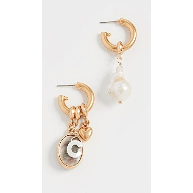 【希望者のみラッピング無料】 ユニセックス 鞄 バッグ バッグ Persona Persona ユニセックス Hoop Earrings, TNS:1de2e1bd --- fresh-beauty.com.au