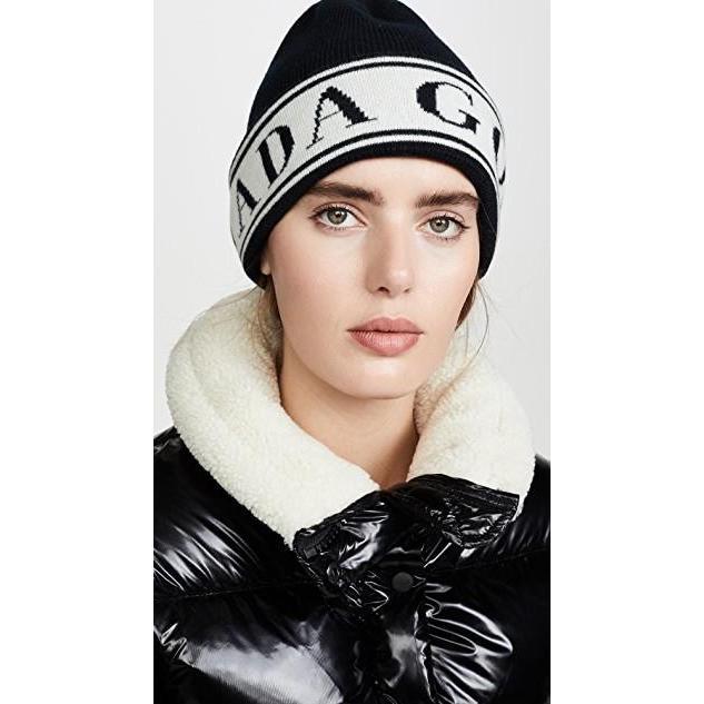 最新入荷 カナダグース ユニセックス Hat Beanie 鞄 バッグ バッグ Logo Toque Beanie Hat, セレクトショップLOL:189fca6e --- fresh-beauty.com.au