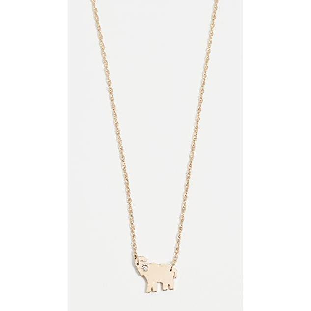 【本物保証】 ユニセックス Mini 鞄 バッグ Mini Elephant Necklace バッグ with Elephant Diamond, タングーンShop:85976f4d --- fresh-beauty.com.au