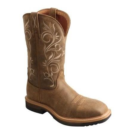 【国産】 ユニセックス ブーツ X Twisted X WLCA002 Lite Weight Lite Cowboy Work Cowboy Boot (Women