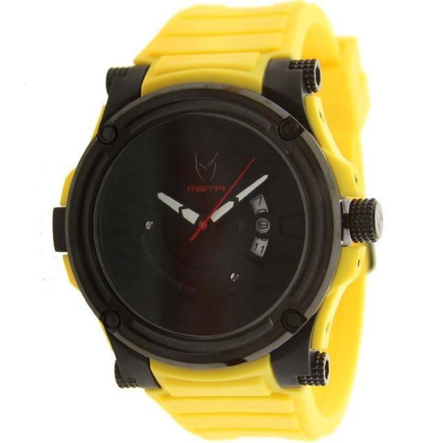 ユニセックス 時計 Meister Prodigy Watch With Rubber Band (yellow)