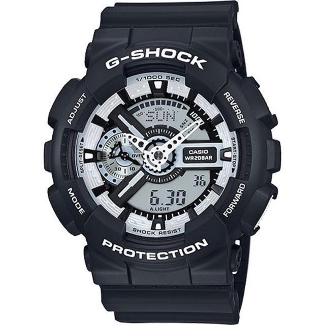 ユニセックス 時計 G-Shock Watches GA110 (black / white)
