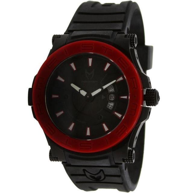 ユニセックス 時計 Meister Prodigy Watch (black / red / rubber band)