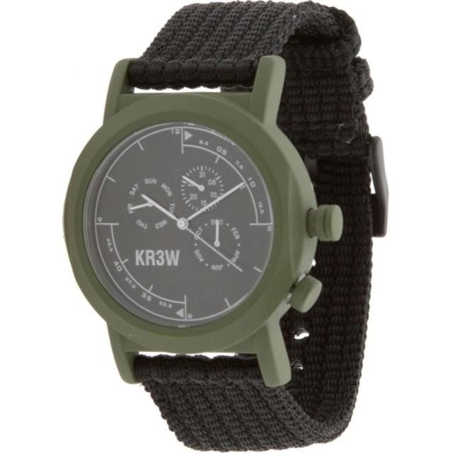 ユニセックス 時計 KR3W Navigator Watch (green / black)