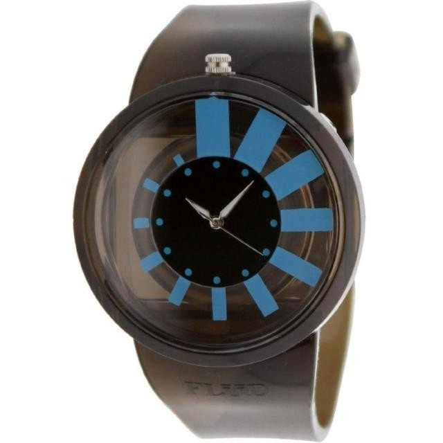 ユニセックス 時計 Flud The Nightlife Watch (black / blue)