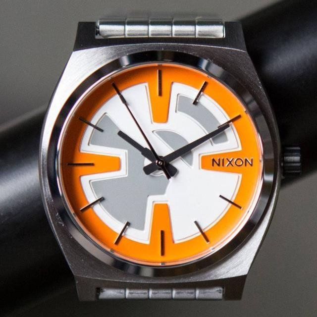 ユニセックス 時計 Nixon x Star Wars Time Teller Watch - BB8 (orange / black)