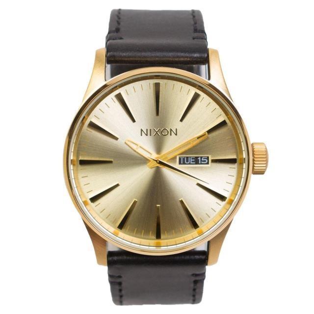 ユニセックス 時計 Nixon Sentry Pack Watch (gold / all gold / black / brown)