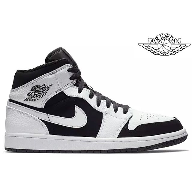 best loved f64cc 097e5 Schuhe Nike Air Jordan 1 MID Schuhe Basketball High Top Sneaker black grey  554724-064 Basketball