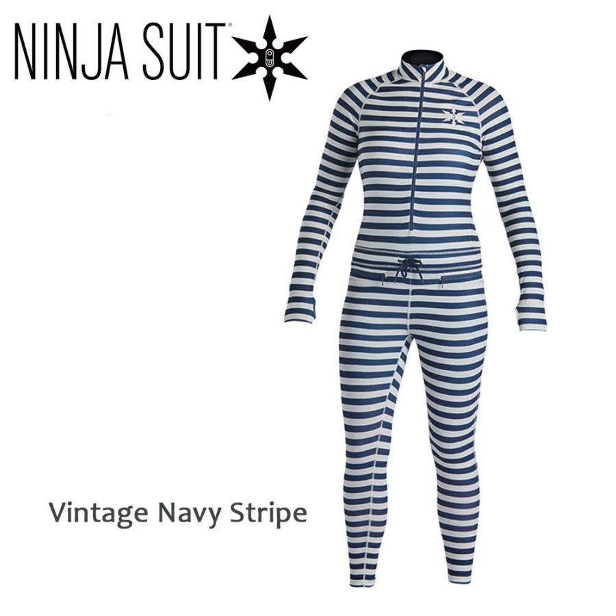 19-20 エアブラスター フードレスニンジャスーツ Vintage Navy Srtipe レディース AIRBLASTER Hoodless Ninja Suit Wms 送料無料